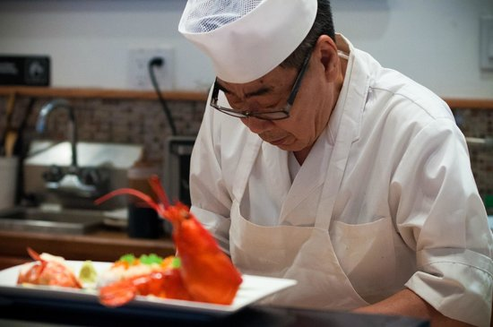 Takesushi: The lobster roll
