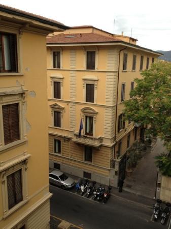 Annabella Hotel: desde el balcón