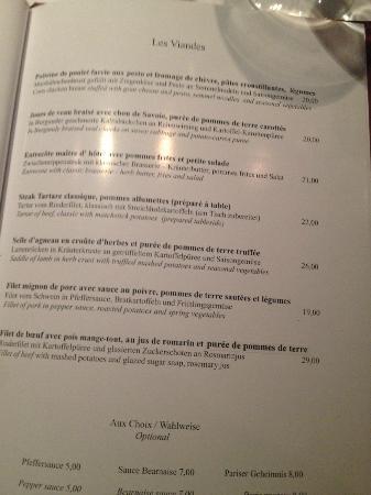 Belmondo Restaurant: Tartaren er helt i særklasse lige som resten af menu kortet!