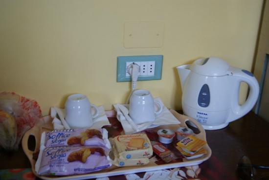 Soggiorno Pezzati Daniela: colazione in stanza