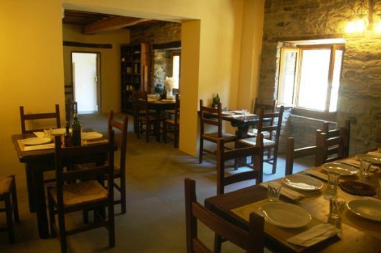 Rifugio I Diacci : sale ristorazione