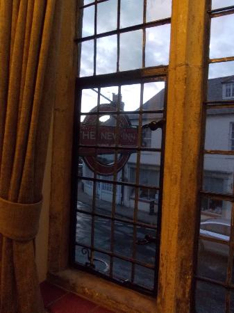 New Inn Cerne Abbas: The view from our window