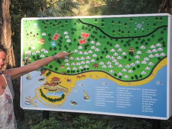 Map Pf Hotel And Rooms Finger Is Us Picture Of TUI - Us hotel map