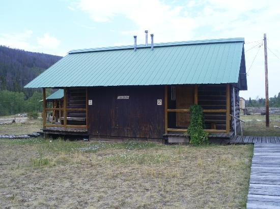 "Medicine Bow Lodge: Our cabin where we layed our very tired heads. The days were not long enough to enjoy the ""Beaut"