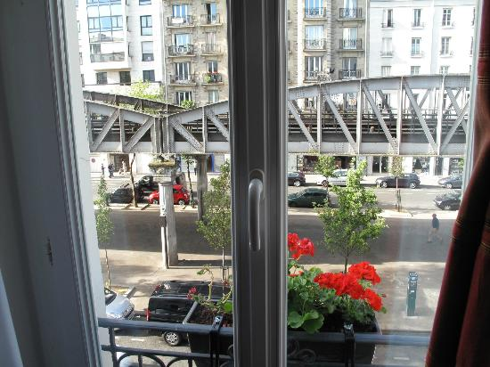 Europe Hotel Paris: view from our room