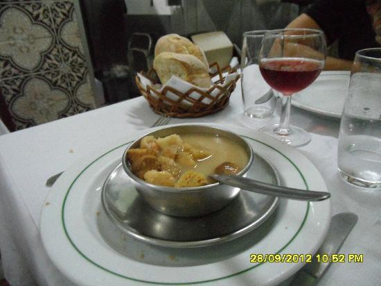 Restaurante Tronco: zuppa