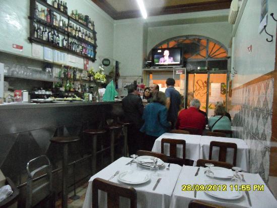 Restaurante Tronco: interno