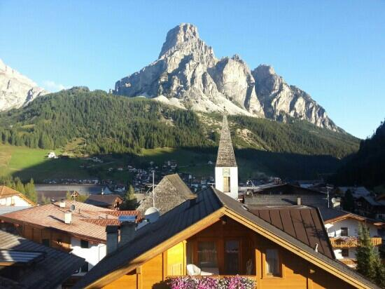 Hotel Marmolada : view from bedroom !