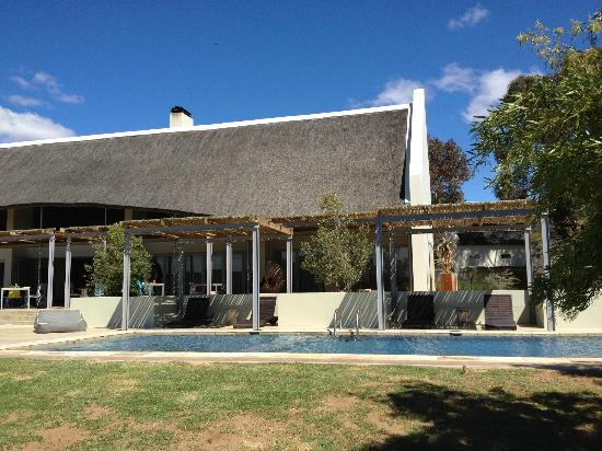 Sanbona Wildlife Reserve - Tilney Manor, Dwyka Tented Lodge, Gondwana Lodge: Pool area
