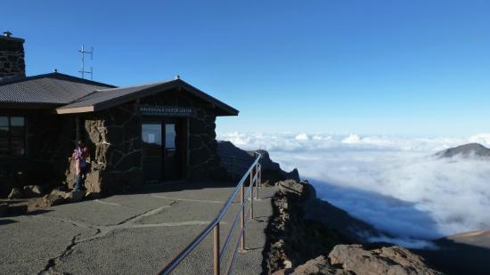 Haleakala Visitor Center Picture Of Haleakala Crater