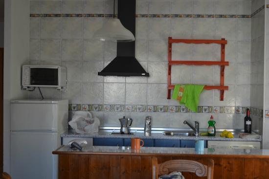 Apartamentos Latin : Cucina