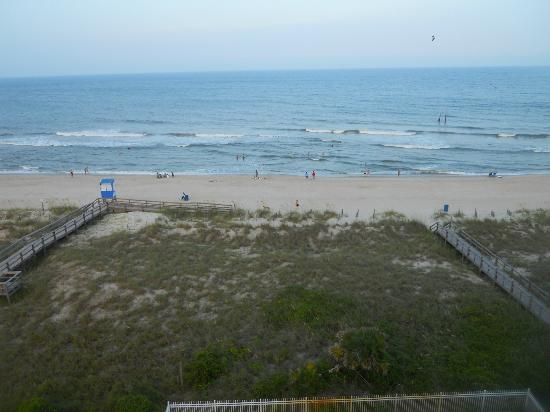 Golden Sands: View from our balcony. 