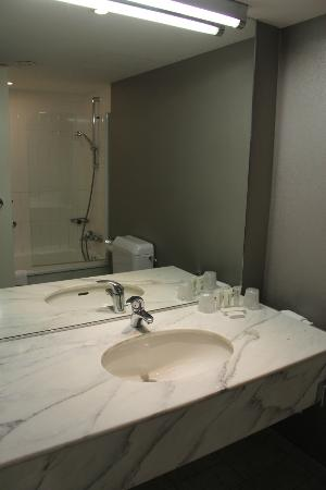 NH Brussels Bloom: bagno
