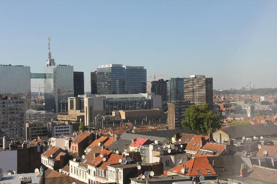 NH Brussels Bloom: panorama dalla camera 805