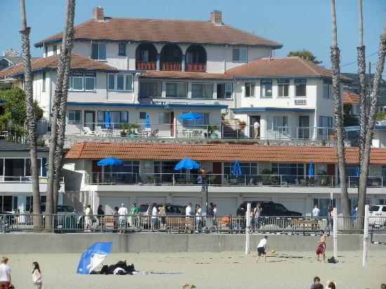 Casablanca Inn on the Beach : Taken from the Pier