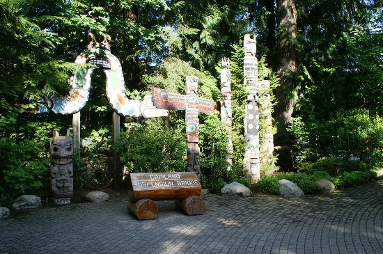 Capilano Suspension Bridge Park: Start point