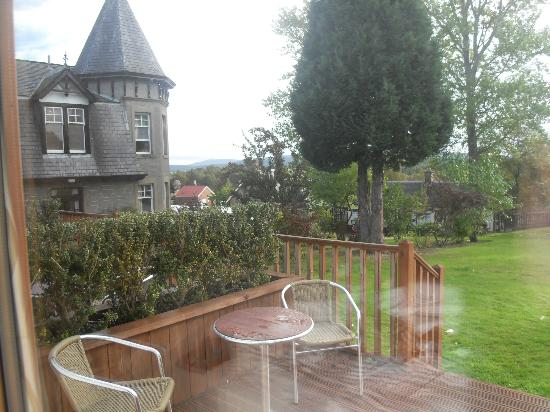 The Boat Hotel: Garden room
