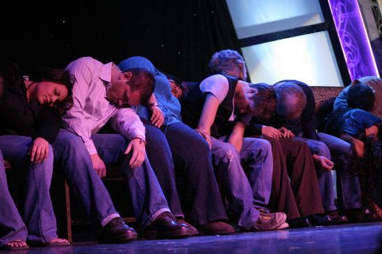Marc Savard Comedy Hypnosis: Zzzz...