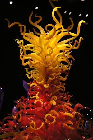 Chihuly Garden and Glass: inside