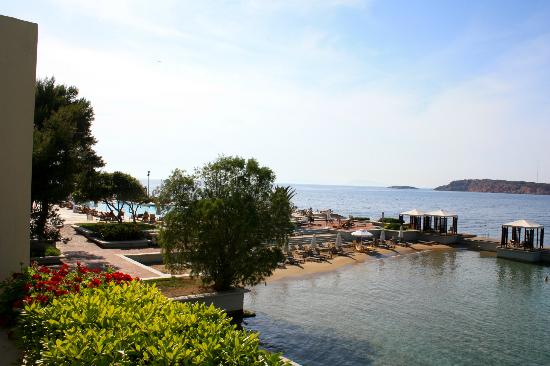 The Westin Athens Astir Palace Beach Resort: Hotel's privet beach