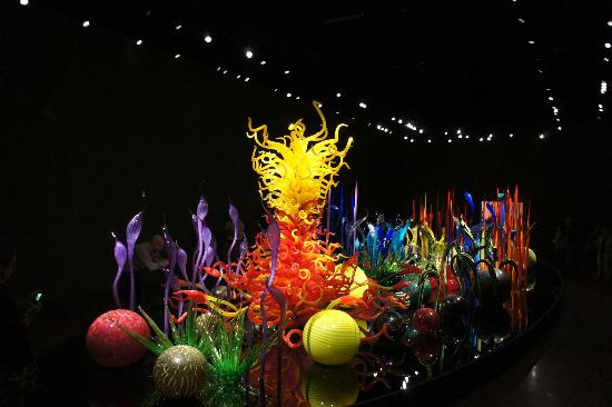 Chihuly Garden and Glass: inside beauty