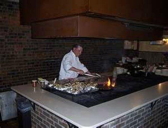 Backyard Steak Pit: The inside Grill at The Backyard Steakpit