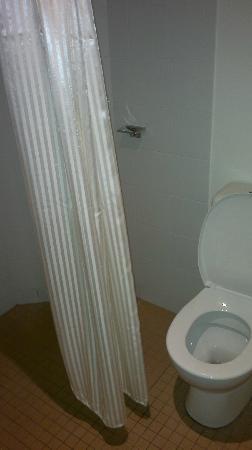 Ibis Budget Hotel Sydney Airport: shower and bathroom