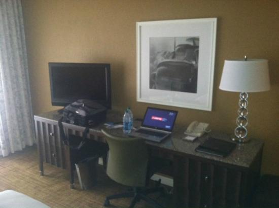 Hilton St. Louis Airport: Work area