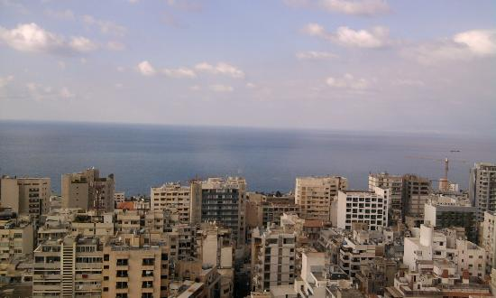Crowne Plaza Hotel Beirut: the seaview