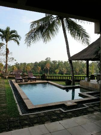 Wapa di Ume Resort and Spa: Family Villa Pool and View