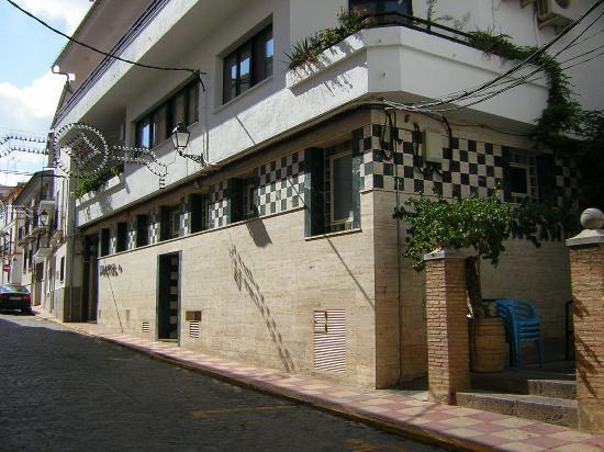 Entrada al Hotel Balneario de Fuencaliente