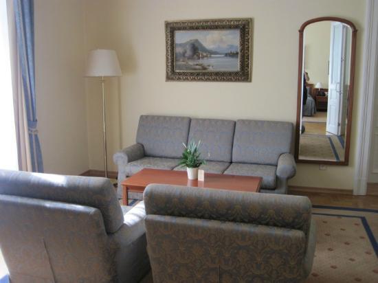 Grandhotel Pupp: Living area