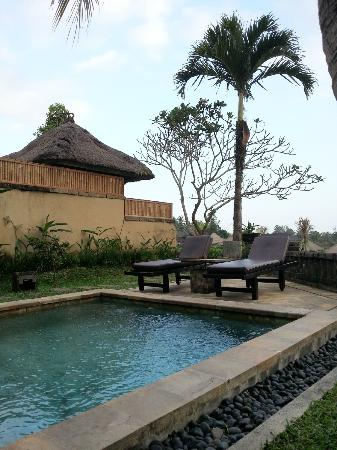 Wapa di Ume Resort and Spa: Family Villa Pool Area