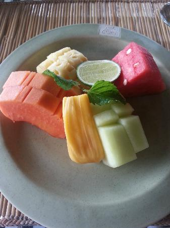Wapa di Ume Resort and Spa: Fresh fruits