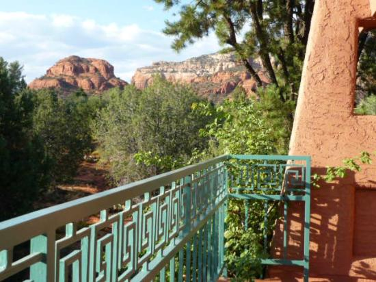 Casa Sedona Inn: View from the balcony