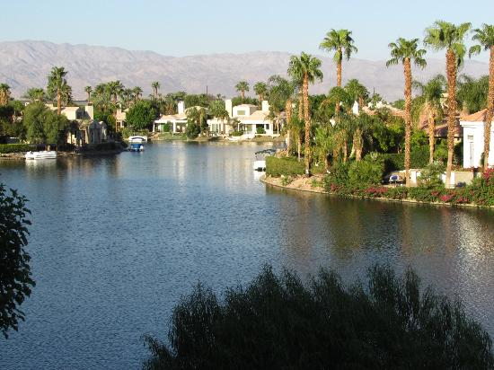 The Chateau at Lake La Quinta: View from our balcony