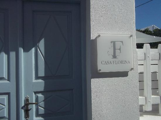 Casa Florina: Frente