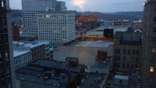 The Westin Cincinnati: View out the window