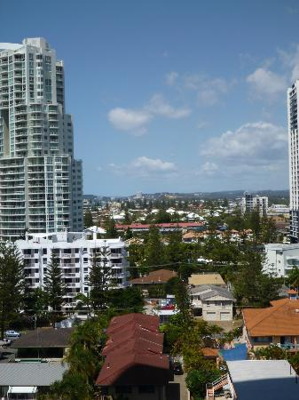 Peppers Broadbeach: View looking south