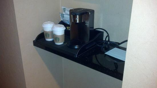 Westin St. Louis: Coffe maker