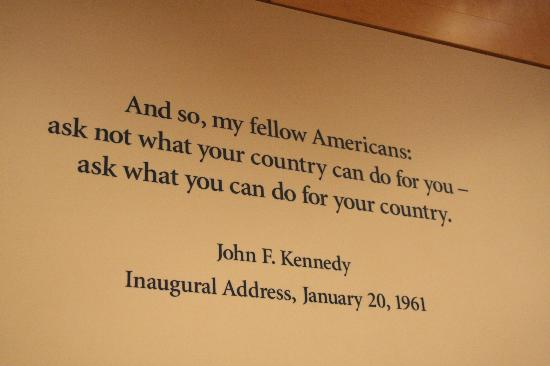 a summary of president john f kennedys inaugural speech A summary of jfk's presidency ii in 's john f in keeping with the idealistic spirit of his inaugural address, one of jfk's the handsome, vigorous president.