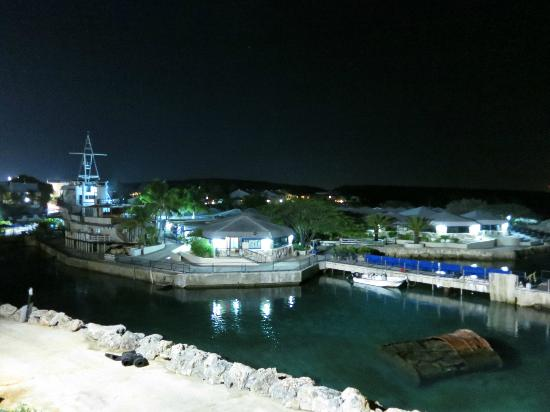 The Royal Sea Aquarium Resort: Night view at the Seaquarium