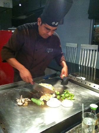 Komasa: Cooked at table