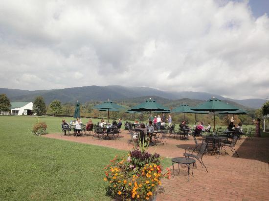 King Family Vineyards: beautiful view