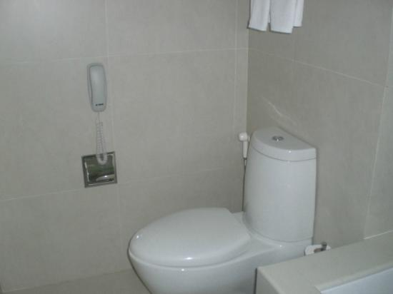 Sukhumvit 12 Bangkok Hotel & Suites: 1206 Toilet
