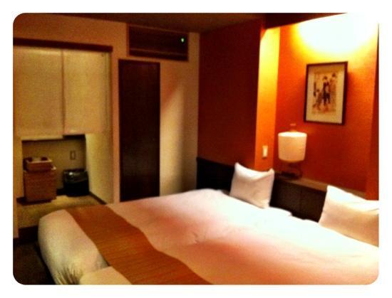 Kyomachiya Ryokan Sakura Honganji: Unser Zimmer im westlichen Stil