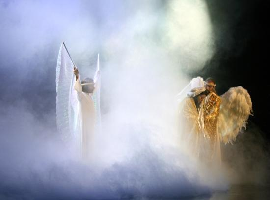 Holy Land Experience: Gotta love the fog machines