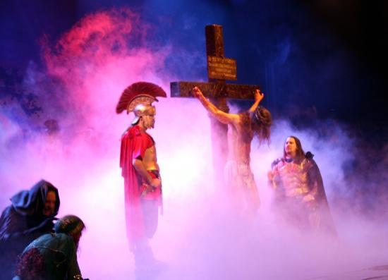 Holy Land Experience: Very theatrical!