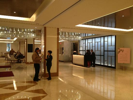 The Langham, Boston: New Lobby (September 2012)