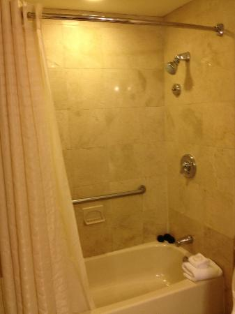 The Langham, Boston: Bath Tub and Shower